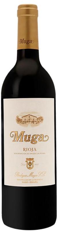Botella de vino Muga Crianza