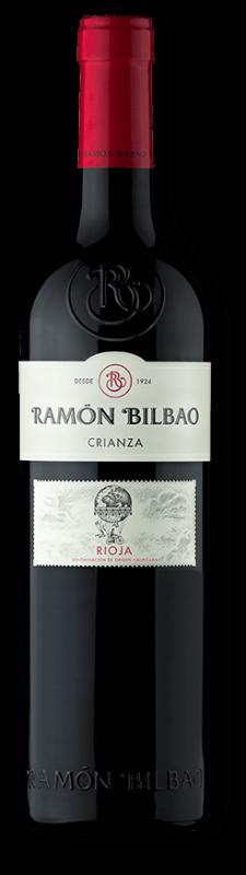 Botella de Ramon bilbao crianza 2017