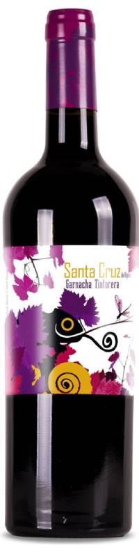 Botella de vino de Santa cruz Maceración carbonica 2020